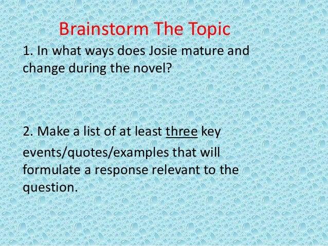 How to make my essay mature?