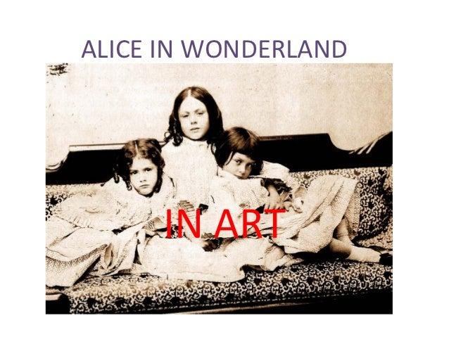 ALICE IN WONDERLAND     IN ART