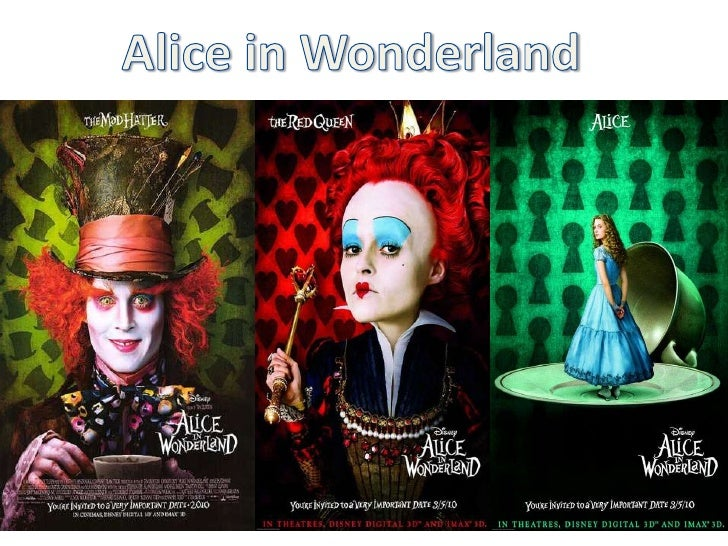 an analysis of alice in wonderland