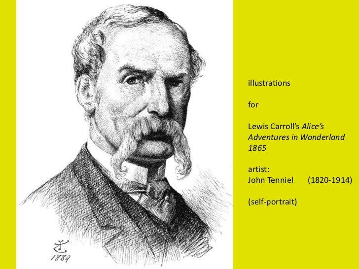 illustrations<br />for<br />Lewis Carroll's Alice's Adventures in Wonderland     1865<br />artist:<br />John Tenniel      ...