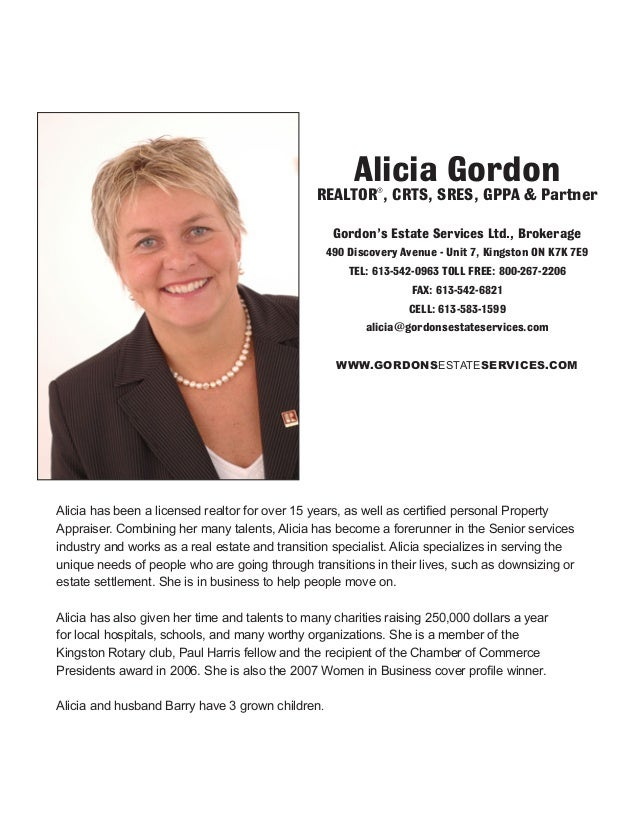 Alicia has been a licensed realtor for over 15 years, as well as certified personal Property Appraiser. Combining her many...