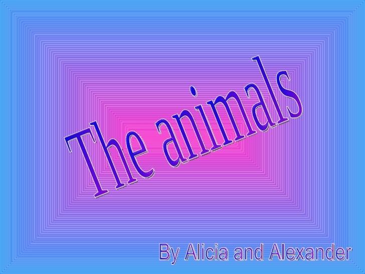 Alicia and alexander