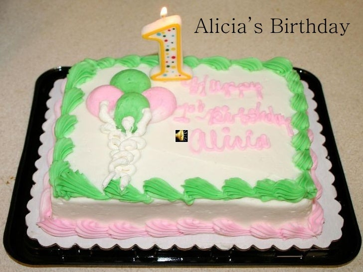 Alicia's Birthday