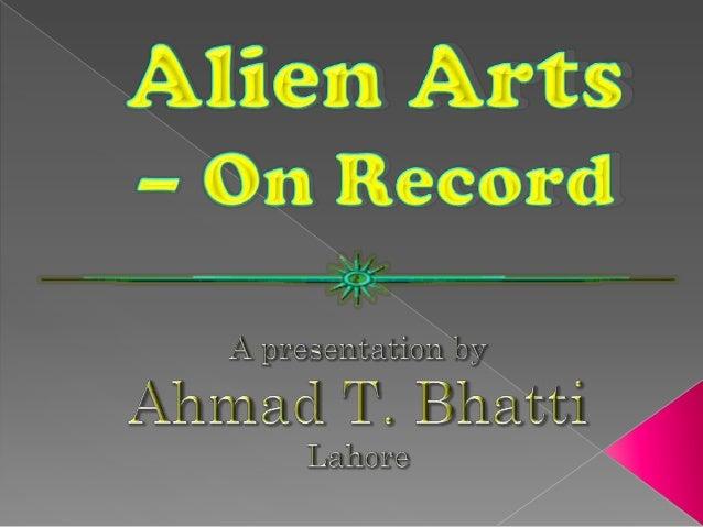 Alien arts