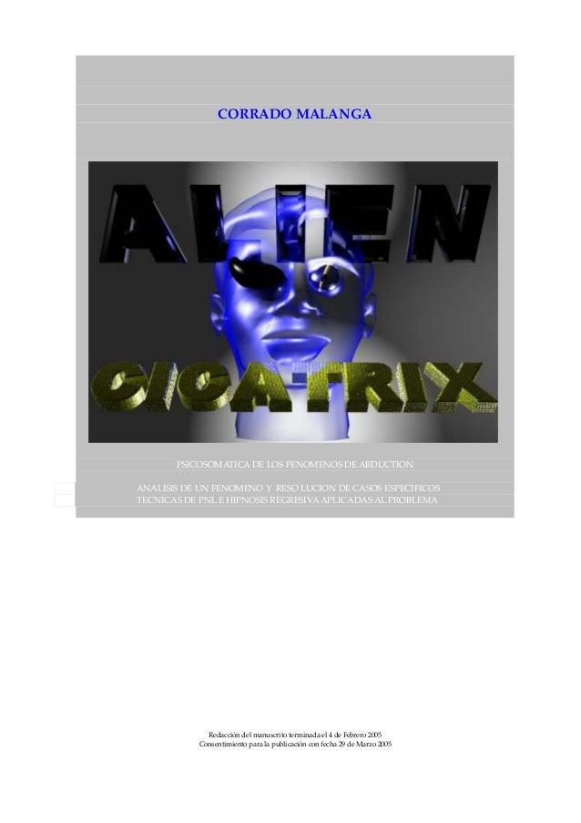 Alien cicatrix español-(dr.corrado malanga)