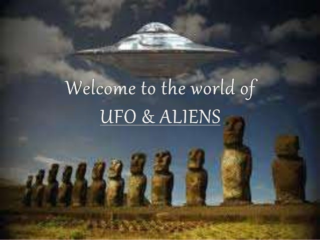 welcome to the world of aliens