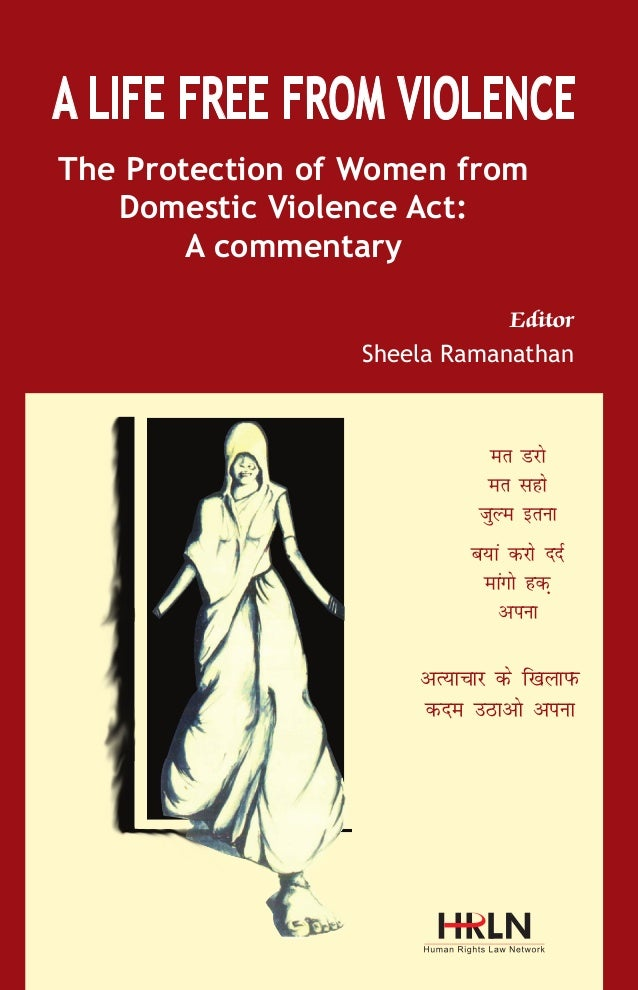 A life free from violence - book on Domestic Violence Act