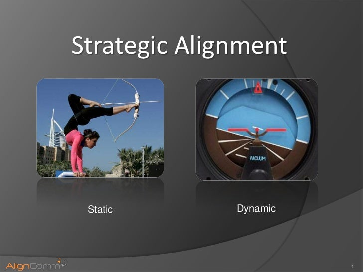 Strategic Alignment Static       Dynamic                        1