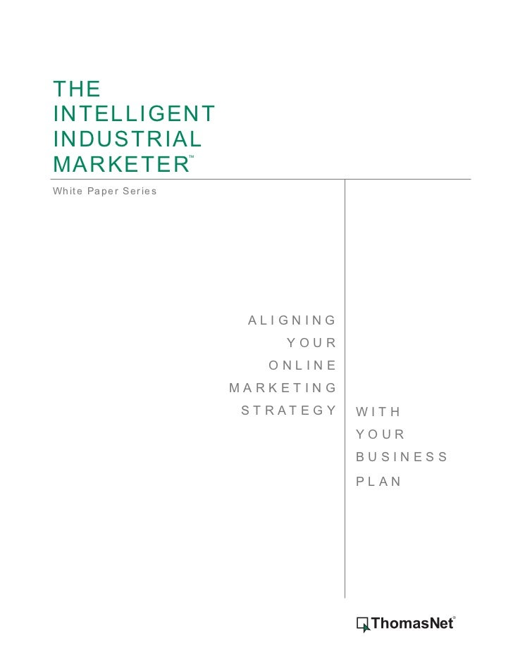 Align Your Internet Marketing Business Plan White Paper