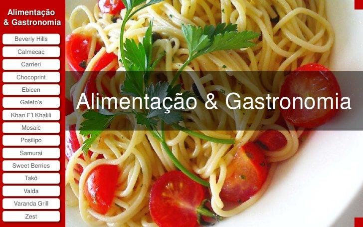 Alimentacao & Gastronomia