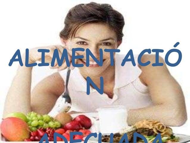 Alimentacion adecuada bioquimica