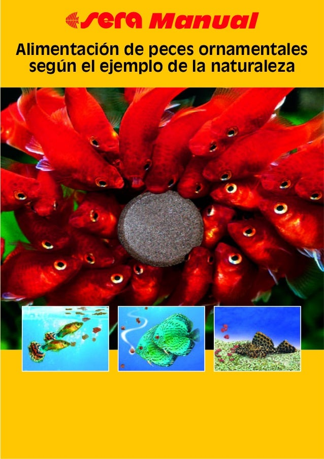 67 Manual Alimentación de peces ornamentales según el ejemplo de la naturaleza