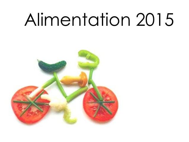 Alimentation 2015