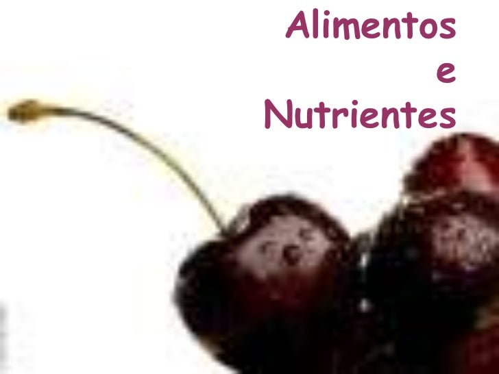 Alimentos         eNutrientes