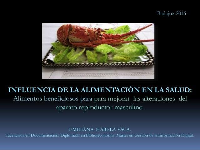Influencia de la alimentación en la salud.