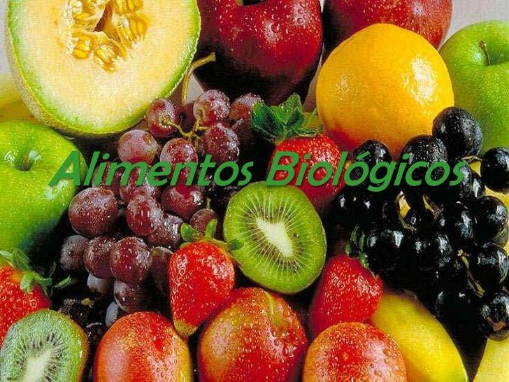 Alimentos Biológicos<br />