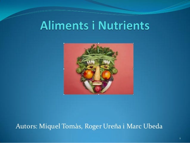 Aliments i nutrients