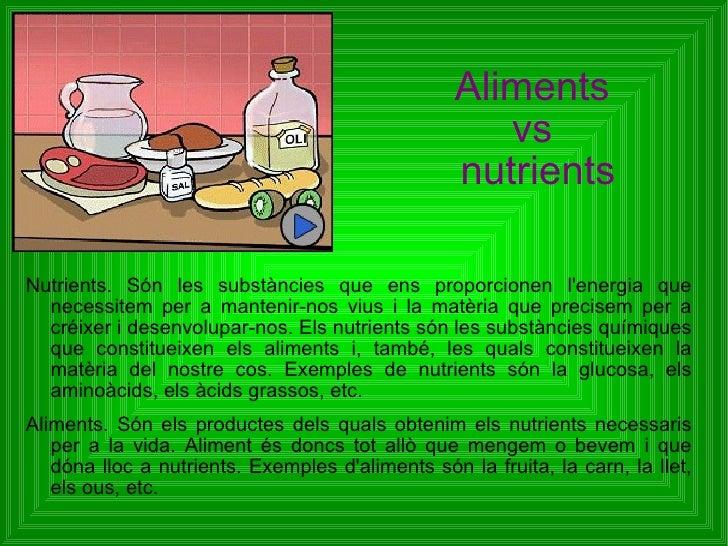 Alimentvsnutrient
