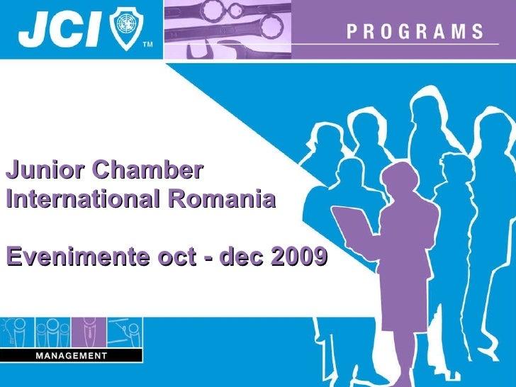 Alin Lista Evenimente Pana La Sfarsitul Anului 2009