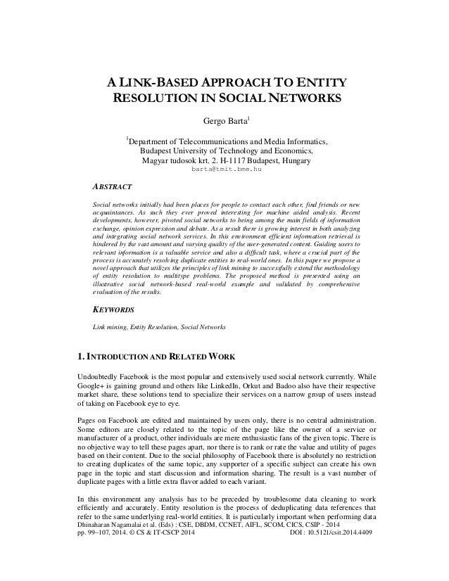 Dhinaharan Nagamalai et al. (Eds) : CSE, DBDM, CCNET, AIFL, SCOM, CICS, CSIP - 2014 pp. 99–107, 2014. © CS & IT-CSCP 2014 ...