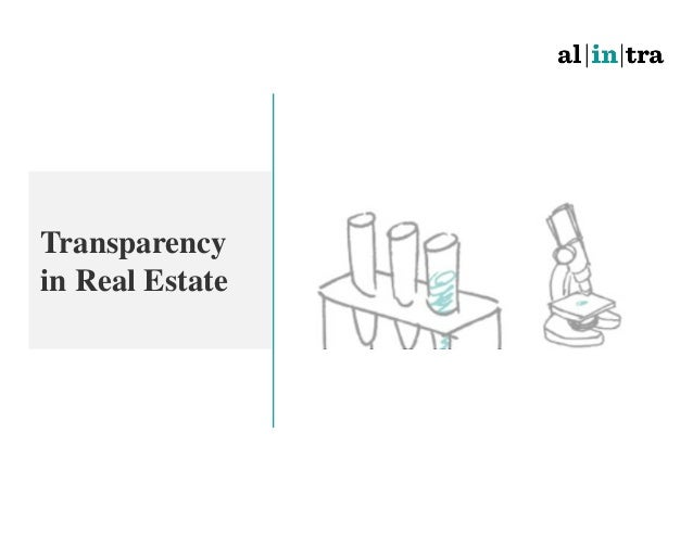 Transparency in Real Estate