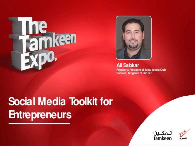 Social Media Toolkit for Entrepreneurs