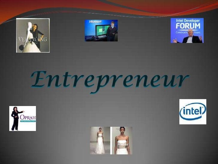 Entrepreneur<br />