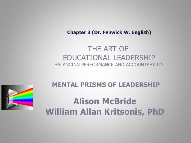 Alison Mc Bride Ppt (Leadership) Ch 3
