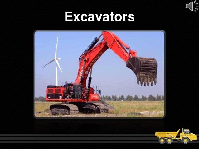 Types Of Excavators : Types of heavy construction equipment