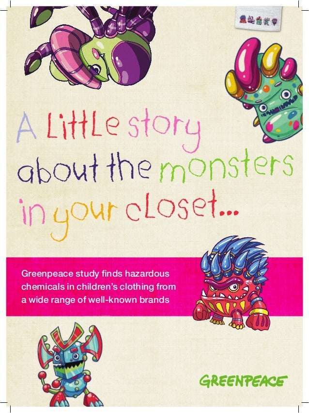 A little story about the monsters in your closet copy