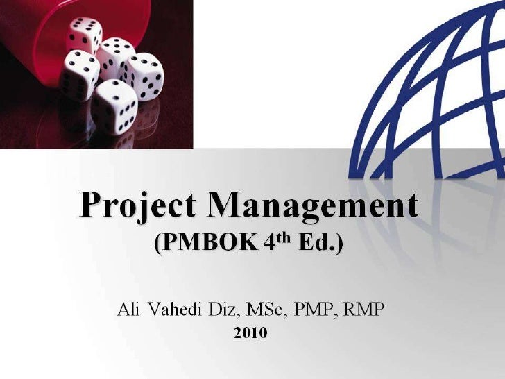 PMBOK 2008 Process MAP
