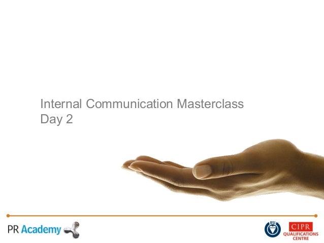 Internal Communication MasterclassDay 2