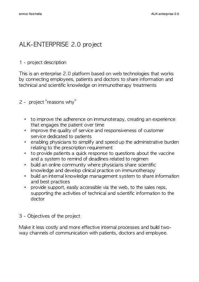 ALK-ENTERPRISE 2.0 project 1 - project description This is an enterprise 2.0 platform based on web technolog...