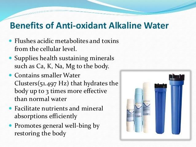 Bio AA Water - Accelerate The Normal Body Mechanism