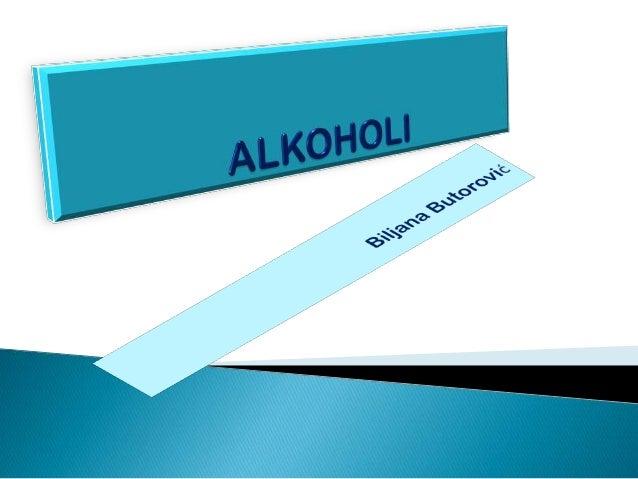 U organska jedinjenja koja pored C i H sadrže i O spadaju : • ALKOHOLI • ALDEHIDI i KETONI • Karboksilne KISELINE • ESTRI