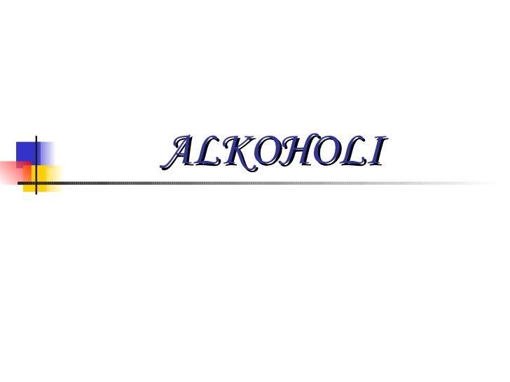 Alkoholi - Nataša Stojanović - Jasmina Miljković