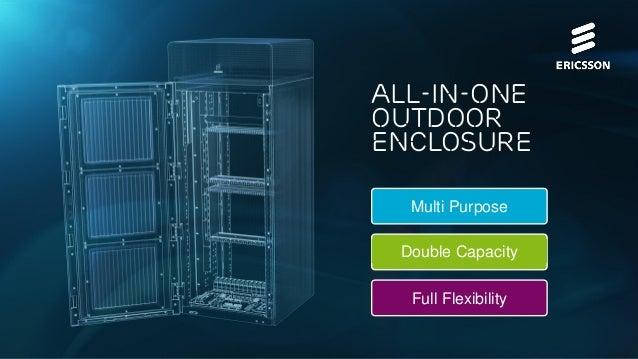 All-in-one outdoor enclosure Multi Purpose  Double Capacity Full Flexibility Public | © Ericsson AB 2014 | 2014-02-12 | Pa...