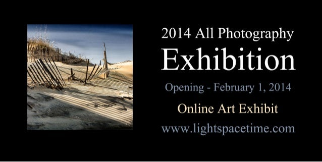All Photography 2014 Art Exhibition Event Postcard