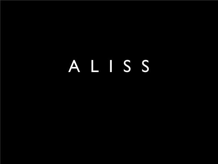 A L I S S