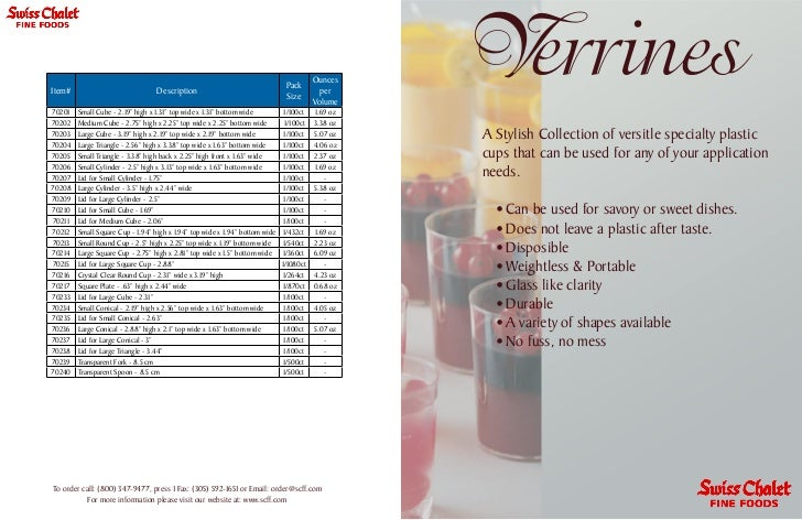 All  Verrines Flyer Email