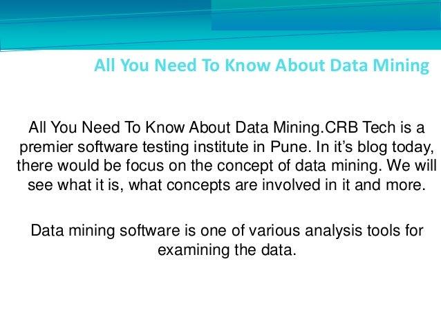 data mining know it all pdf