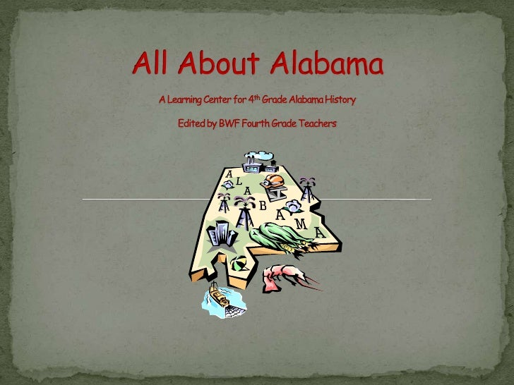 All about Alabama powerpoint