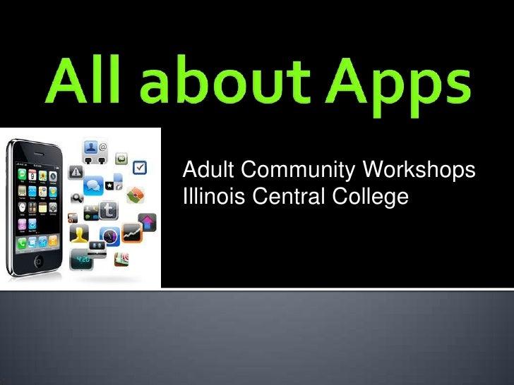 Adult Community WorkshopsIllinois Central College