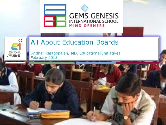 All About Education Boards