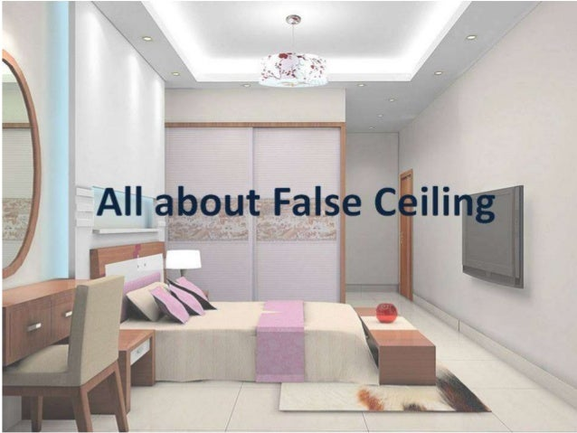 All about false ceiling and its types for Different kinds of ceiling design