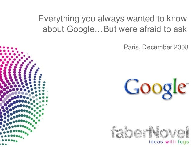 Why GOOGLE Thrive and Others Cant Make it ?