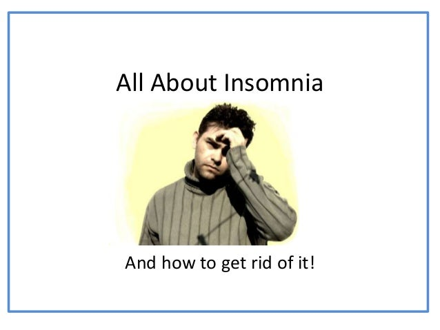 All about insomnia