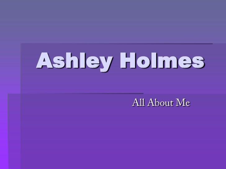 Ashley Holmes
