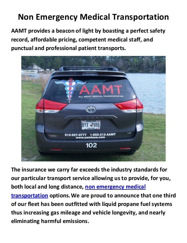 how to become a non emergency medical transportation provider