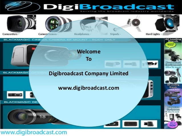 All about Professional Camera Lenses by www.digibroadcast.com